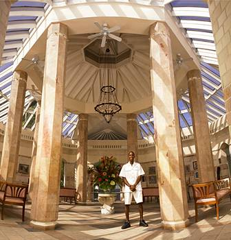 Breezes Grand Resort lobby