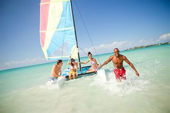 Couples San Souci water sports